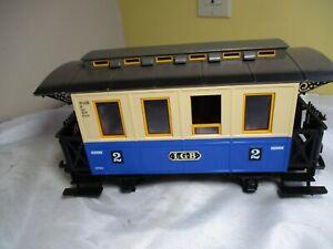 LGB Blue Passenger Car from The Big Train  20301 Train Set