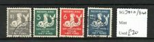 Netherlands 1929 Child Welfare set Sg381a/384a used Sg cv £20