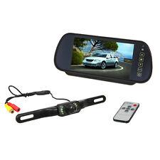 "KFZ 7"" Zoll Auto TFT LCD Monitor Rückspiegel Bildschirm mit Funk Rückfahrkamera"