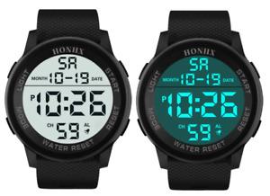 Black Referee Watch Match Official Digital Watch Waterproof Stopwatch New Ref