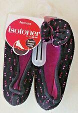 Ballerines noires Isotoner neuves taille 35/36 étiqueté à 19€