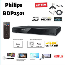 Philips BDP2501 Blu-Ray DVD Player with Built in Wi-Fi and Video upscaling to HD