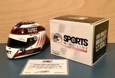 F1 Formula One MAX CHILTON 2014 1:2 HELMET - 1/2 - LIMITED EDITION 75 SIGNED COA