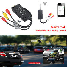 WiFi Wireless Auto Car Backup Camera Video Rearview Transmitter iPhones Androids