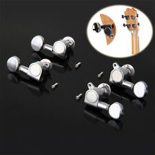 Chrome Alloy Tuning Pegs Machine Heads 2r 2l for Ukulele 4 String Guitar Bass TP