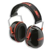 Uvex Kapselgehörschutz uvex K3, SNR, 33 dB Gehörschutz Bügel Ohrenschutz
