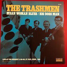 Trashmen Mean Woman Blues b/w Big Boss Man Sundazed 45 w/PS Yellow Vinyl