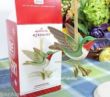 Hallmark Hummingbird 2014 Beauty of the Birds ornament #10 in series-QX9123