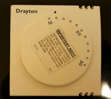 Drayton RTS1 Room Thermostat. Used.