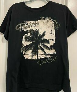 Del Sol - Paradise COLOR CHANGING LOGO T- Shirt  Size - LARGE