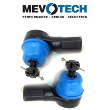 Fits Honda CR-V Acura EL Pair Set of 2 Front Outer Tie Rod Ends Mevotech MES3581