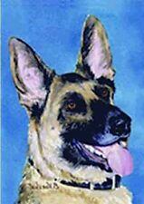 Artwork Garden Flag German Shepherd Dog Small Outdoor Garden Flag made Usa