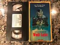 Wolf Lake VHS! Awesome 1980 Thriller! (See) I Spit On Your Grave