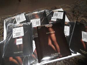 Vintage Talbots Hosiery Pantyhose Lot NOS 10 Pairs