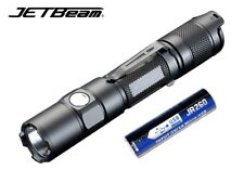New Jetbeam TH15 Cree XHP35 E2 1300lm LED Tactical Flashlight (With USB Battery)