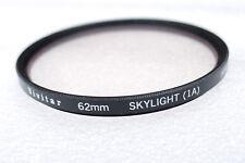 62mm Vivitar Skylight 1A Filter - USED