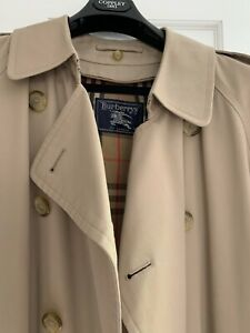 Vintage Burberry Long Trench Coat