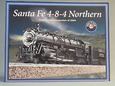 LIONEL SANTA FE 4-8-4 NORTHERN FIRST SPECIAL INTRODUCTION 2004 TRAIN CATALOG