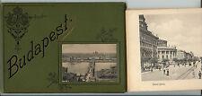 KAROLY DIVALD Budapest – Leporello 32 Bilder, ca. 1910