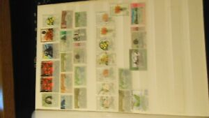 A selection of Trinidad and tobago stamps