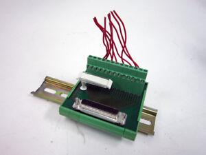 PHOENIX CONTACT 2281209 TERMINAL BLOCK INTERFACE MODULES FLKM-D25 SUB/B & RAIL