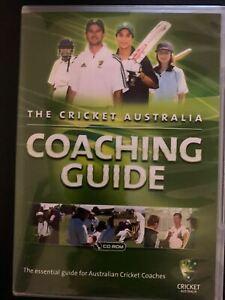 The Cricket Australia: Coaching Guide (PC CD-ROM) 2007
