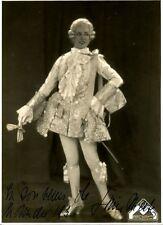 LIVINE MERTENS opera mezzo-soprano signed photo as Octavian