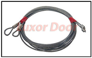 New Garage Door Cables for Torsion Spring Garage Doors 7' - 12' High Cables