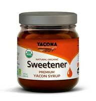 Yacona Yacon All Natural Premium Organic Syrup Low Calorie Sweetener