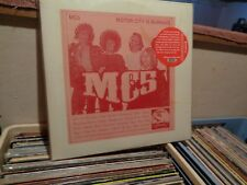MC5 MOTOR CITY IS BURNING 2 LP EARMARK IMPORT NEAR MINT LP RECORD