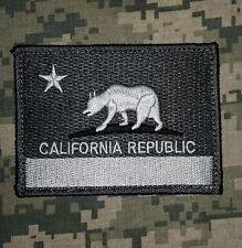 CALIFORNIA FLAG TACTICAL REPUBLIC MILSPEC ACU DARK VELCRO® BRAND FASTENER  PATCH
