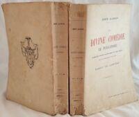 DANTE ALIGHIERI LA DIVINE COMEDIE DIVINA COMMEDIA 1914 ERNEST LAMINNE NOTE