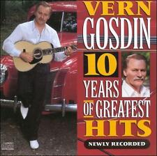 "VERN GOSDIN, CD ""10 YEARS OF GREATEST HITS"" NEW SEALED"