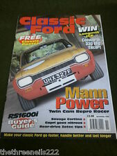 CLASSIC FORD - MANN POWER - NOV 1998