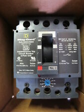 Square D Gjl36003M01 3 Pole 3 Amp 600 Volt Motor Circuit Protector New