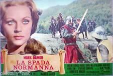 fotobusta 1971 LA SPADA NORMANNA-Mark Damon-Luis Davola-Krista Nell-A.Collins-2
