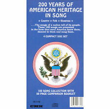 200 Years of American Heritage in Song: 100 Song Collection * by Great American