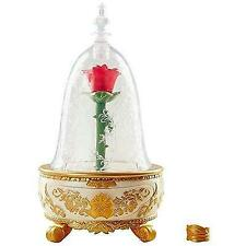 Disney Beauty & The Beast Live Action Enchanted Rose Jewelry Box Toy New