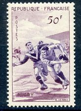STAMP / TIMBRE FRANCE NEUF N° 1074 * SPORT RUGBY / NEUF CHARNIERE