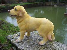 NA0702 GRAND FIGURINE STATUETTE CHIEN  LABRADOR  ANIMAL CANIN DERNIER   35 CM