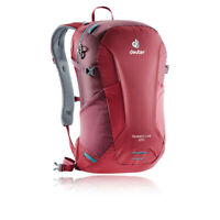 Deuter Unisex Speed Lite 20 Backpack - Red Sports Outdoors Breathable Reflective
