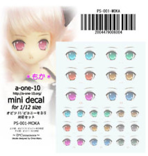 Azone Eye Decal Sticker 04 for Obitsu , pureneemo, dollfie 1/12 body japan dolls