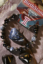 'GEMINI' Gemstone 'Power Bracelet' plus a free guide book & bookmark.