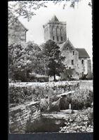 AVRANCHES / GRANVILLE (50) EGLISE de l'ABBAYE de LUCERNE en 1950