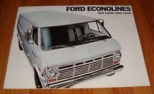 Original 1968 Ford Econoline Van Sales Brochure E-100 E-200 E-300