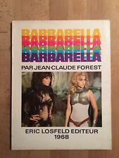 Barbarella - Editions Eric Losfeld - 1968 - TBE