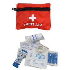 Mini 24 PC Pocket Medical First Aid Kit Travel Portable Car Bike Camping Outdoor