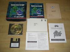 X-Com TERROR FROM THE DEEP IBM Pc Cd Rom  Original BIG BOX. Fast , Secure Post