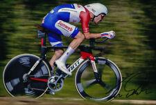 Tom Dumoulin - Autographed - Signed 8X12 inches 2017 Team Sunweb Photo