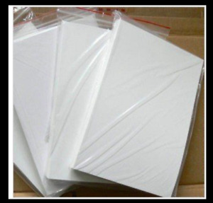 Water Slide Decal Paper A4 LASER Waterslide Transfer Paper – Various pack sizes